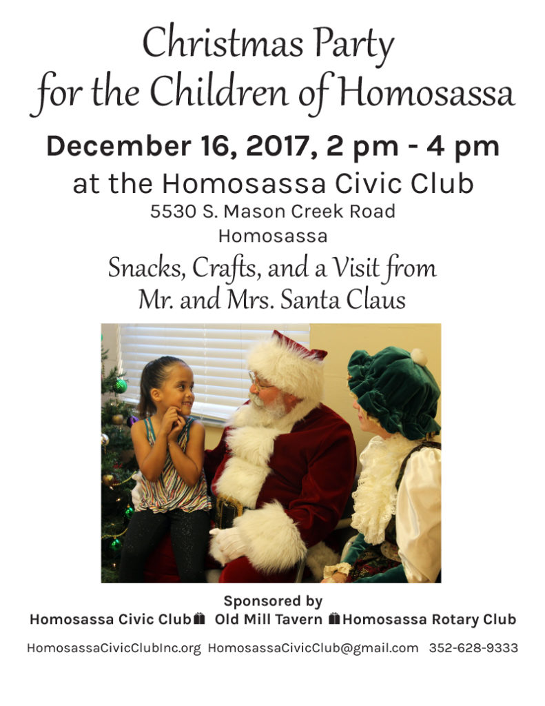 Christmas Outreach for the Children