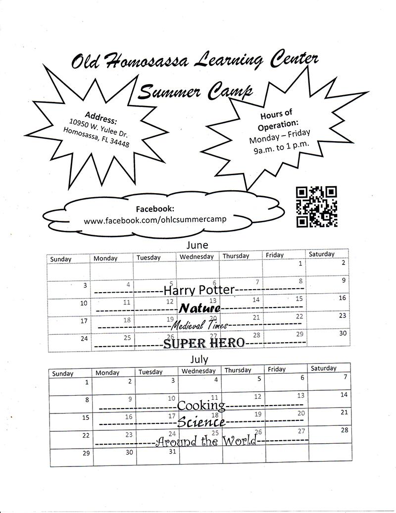 OHLC Summer Camp