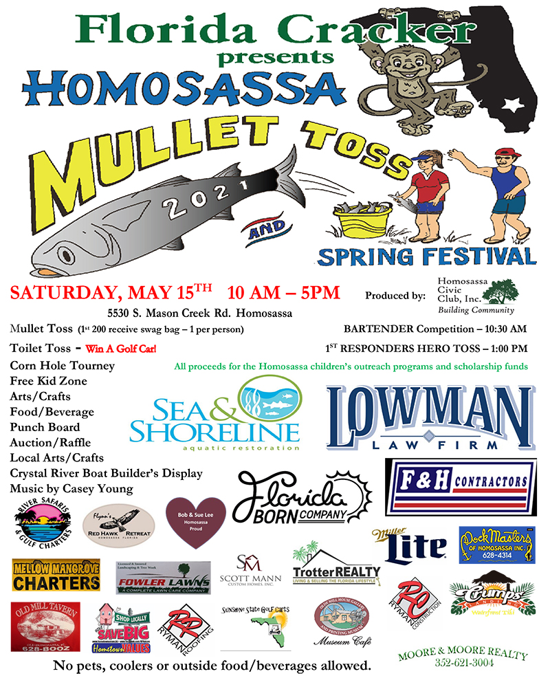 Homosassa Mullet Toss and Spring Festival